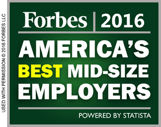 Forbes 2016 - America's Best Mid-Size Employers